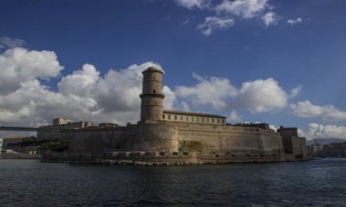 Zdjecie FRANCJA / - / Marsylia / Fort Saint-Jean