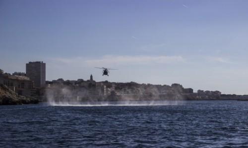 Zdjecie FRANCJA / - / Marsylia / ćwiczenia w mar