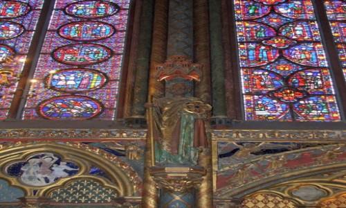 Zdjecie FRANCJA / - / Paryż / Sainte-Chapelle