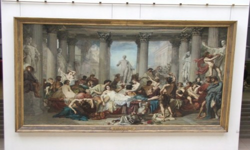 """Zdjecie FRANCJA / - / Paryż, Muzeum d'Orsay / """"Rzymiani"""