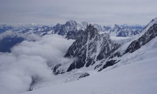 Zdjecie FRANCJA / - / w drodze na Mont Blanc / krajobraz