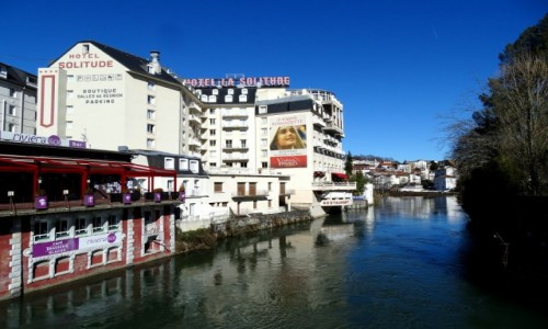 Zdjecie FRANCJA / Hautes-Pyrénées / Lourdes / Le Gave de Pau
