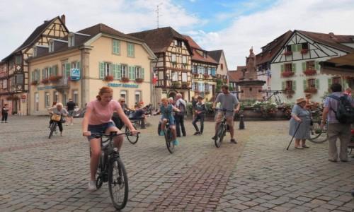 Zdjecie FRANCJA / Alzacja / Eguisheim / tutaj zawsze dzieje się...