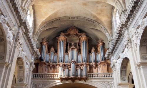 Zdjecie FRANCJA / Lotaryngia / Cathédrale Notre-Dame-de-l'Annonciation de Nancy / katedralne organy...