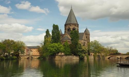 Zdjęcie FRANCJA / Lotaryngia / Metz / Le Temple Neuf ...
