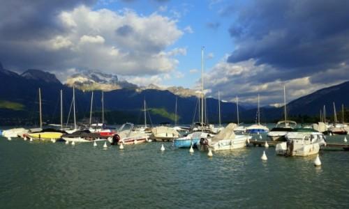 Zdjęcie FRANCJA / Alpy Sabaudzkie / Lac d'Annecy / Jezioro Annecy
