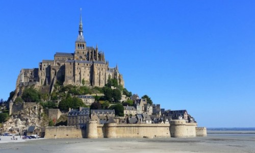 FRANCJA / Normandia / Abbaye du Mont-Saint-Michel / Mont Saint-Michel