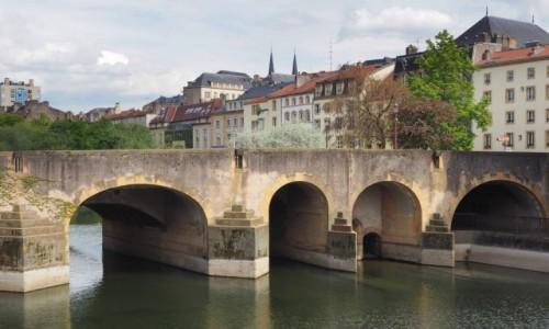 Zdjęcie FRANCJA / Lotaryngia / Metz / jeszcze jeden most...