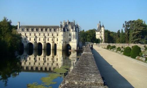 Zdjecie FRANCJA / Dolina Loary / Château de Chenonceau / Kobiecy gust