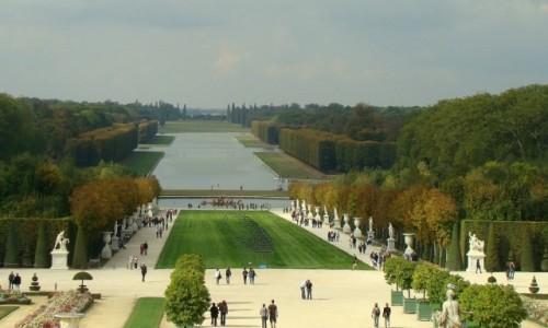 Zdjecie FRANCJA / Île-de-France / Wersal / W ogrodach Króla Słońce