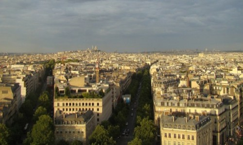 Zdjecie FRANCJA / Île-de-France / Paryż / Paryż o złotej godzinie