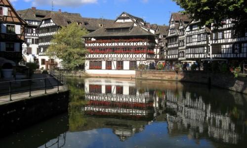 Zdjecie FRANCJA / Alzacja / Strasburg - Petite France / Uroki Alzacji - Strasburg