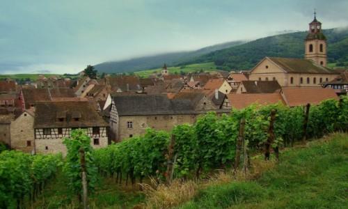 FRANCJA / Alzacja / Riquewihr / Uroki Alzacji - Riquewihr