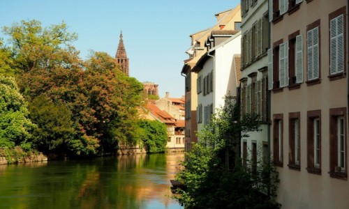 FRANCJA / Alzacja / Strasburg / Petite France...