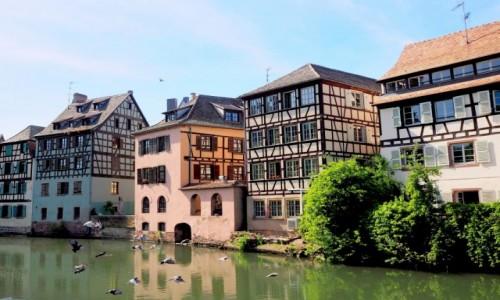 Zdjęcie FRANCJA / Alzacja / Strasburg, Petite France / beztrosko tak...