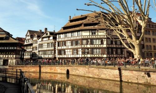 Zdjęcie FRANCJA / Alzacja / Strasburg / lubimy Petite France...