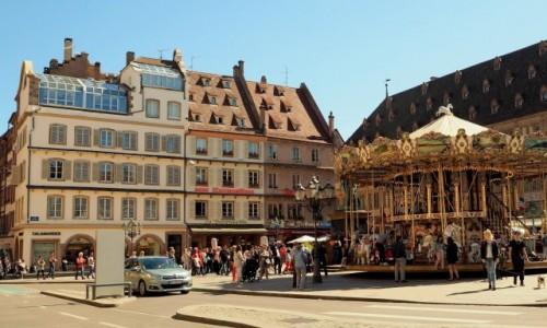 Zdjęcie FRANCJA / Alzacja / Strasburg / Place Gutenberg...