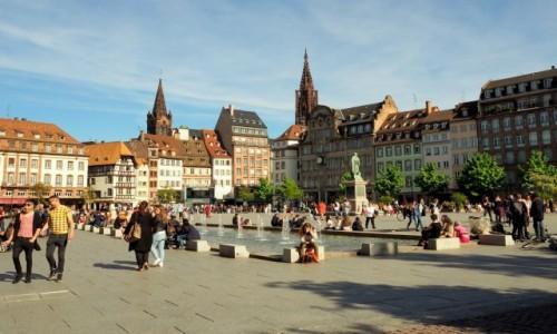 Zdjecie FRANCJA / Alzacja / Strasburg, Place Kléber / w sercu miasta...