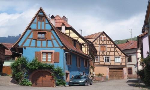 Zdjecie FRANCJA / Alzacja / na Szlaku Alzackich Win / słodycz kończy się na architekturze - na szczęście:)