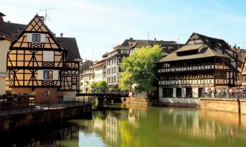 FRANCJA / Alzacja / Strasburg / mosty i mostki...