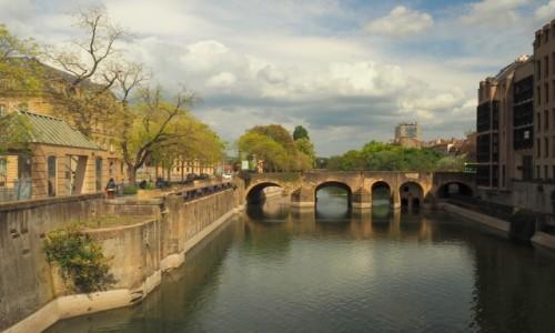 Zdjęcie FRANCJA / Lotaryngia / Metz / Canal de la Moselle...