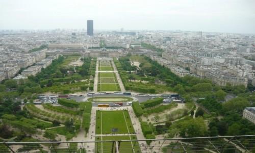 Zdjęcie FRANCJA / - / Paryż / Panorama Paryża z Wieży Eiffla