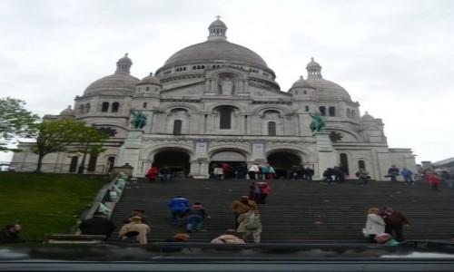 Zdjęcie FRANCJA / - / Payż / Bazylika Sacré Coeur w Paryżu