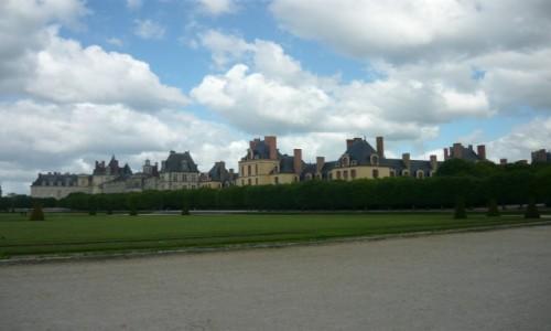 Zdjęcie FRANCJA / - /  Fontainebleau / Rezydencja królewska w Fontainebleau