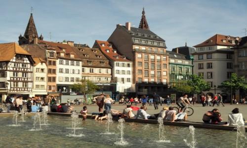 FRANCJA / Alzacja / Strasburg /  Place Kléber...
