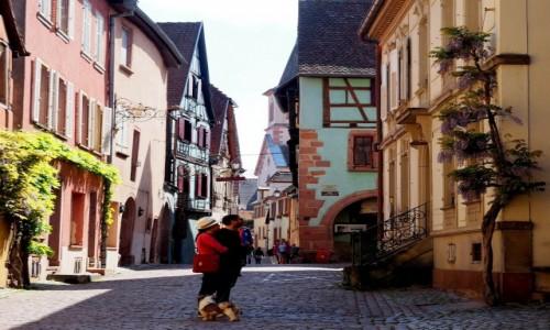 Zdjecie FRANCJA / Alzacja / Riquewihr / w Riquewihr...