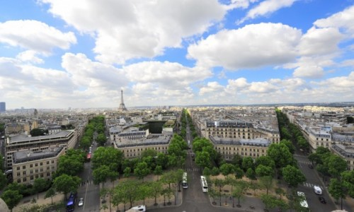 FRANCJA / - / Paryż / Panorama