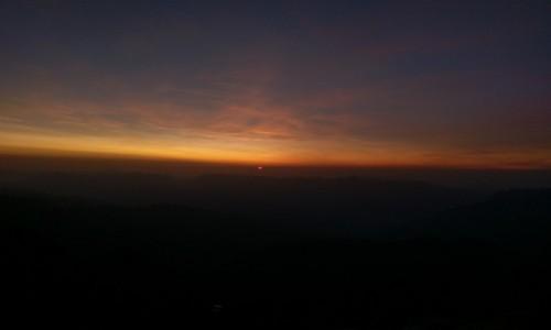 Zdjecie FRANCJA / - / Alpy / Zachód słońca