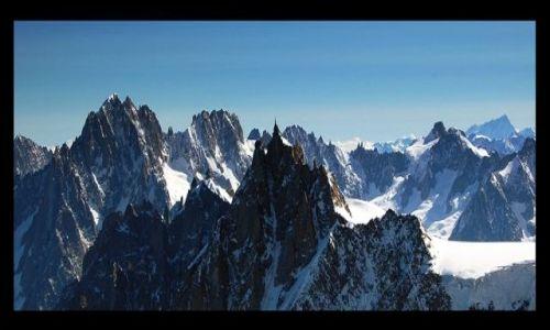 Zdjecie FRANCJA / Alpy Graickie / Masyw Mont Blanc / Aiguille du Midi