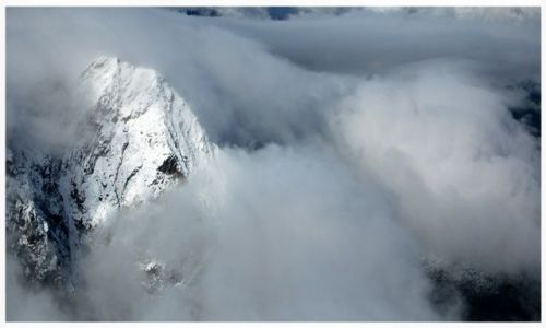 Zdjecie FRANCJA / Alpy Graickie / Masyw Mont Blanc / Gdzie jest kres