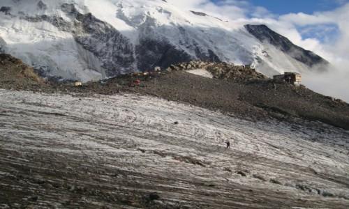 Zdjecie FRANCJA / Masyw Mont Blanc / Tete Rousse / Tete Rousse 3167 m n.p.m.