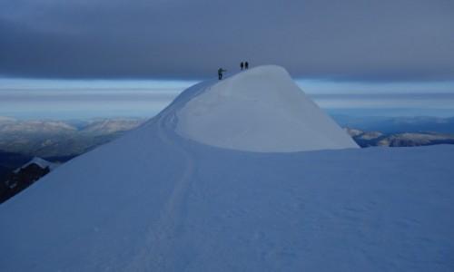 Zdjecie FRANCJA / Masyw Mont Blanc / Mont Blanc / Idę, idę...