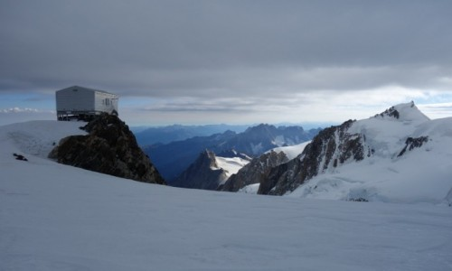 Zdjęcie FRANCJA / Masyw Mont Blanc / schron Vallot / Vallot 4362 m n.p.m.