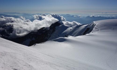 FRANCJA / Masyw Mont Blanc / schron Vallot / Widoki na 4362 m n.p.m.