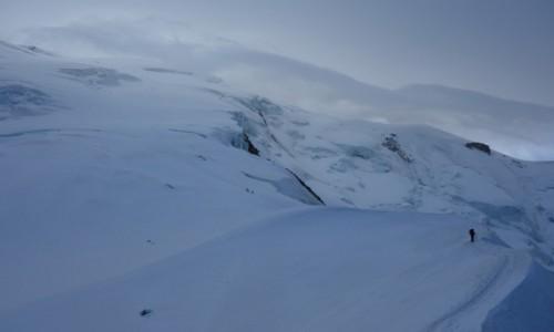 Zdjecie FRANCJA / Alpy / Masyw Mont Blanc / Samotny.
