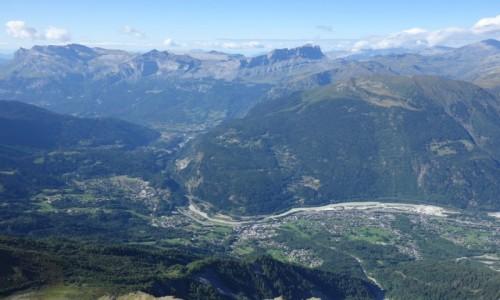 Zdjecie FRANCJA / Masyw Mont Blanc / Barak Forestier / 2768 m n.p.m.