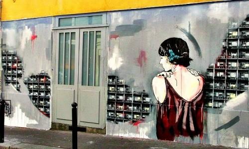 Zdjęcie FRANCJA / - / Paryż / Paris street art