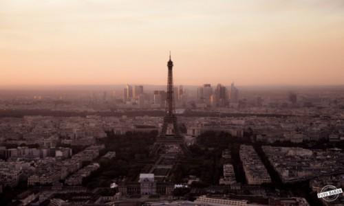 Zdjecie FRANCJA / - / Montparnasse, Paryż / widok z Montparnasse