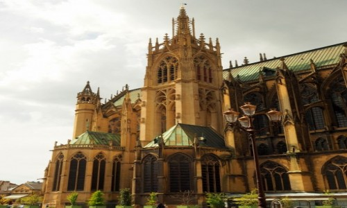 Zdjecie FRANCJA / Lotaryngia / Metz / Cathédrale Saint-Étienne de Metz