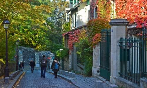 Zdjęcie FRANCJA / - / Paryż / Romantyczne Montmarte