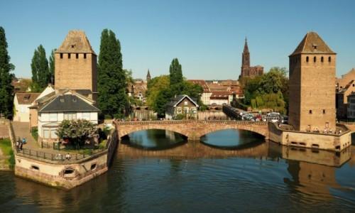 FRANCJA / Alzacja / Strasburg / Les Ponts Couverts...