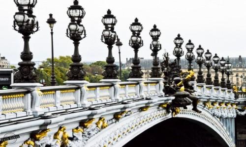 Zdjecie FRANCJA / - / Most Aleksandra III, Prayż / Pont Alexandre III