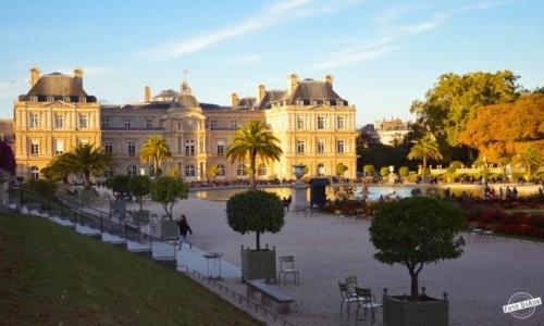 Zdjęcie FRANCJA / - / Ogród Luksemburski, Paryż / Pałac Luksemburski