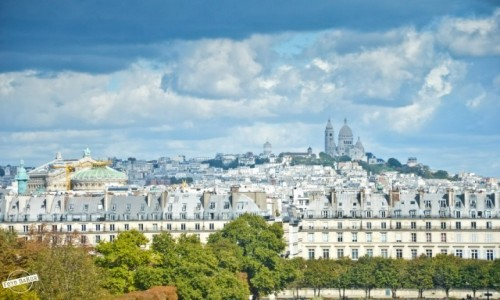 Zdjecie FRANCJA / Paryż / Musee d'Orsay / Widok z Musee d'Orsay