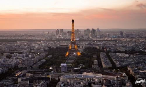 Zdjecie FRANCJA / Paryż / Tour Montparnasse / Paryżanka