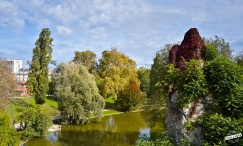 Zdjecie FRANCJA / - / Paryż / Parc des Buttes Chaumont